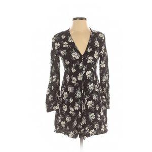 Zara Basic V-neck Dress